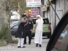 Watch NYPD Frisk Man In Muslim Dress -- Moments After Letting Him Walk By In Western Clothes