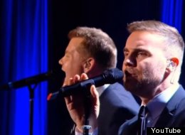 Gary Barlow And James Corden Perform 'Pray', And You've Never Heard Anything Like It
