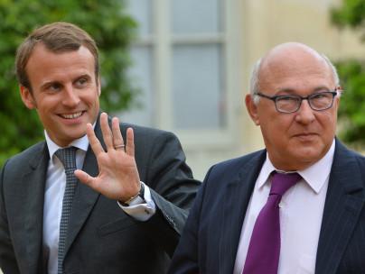 Minister Macron und Sapin