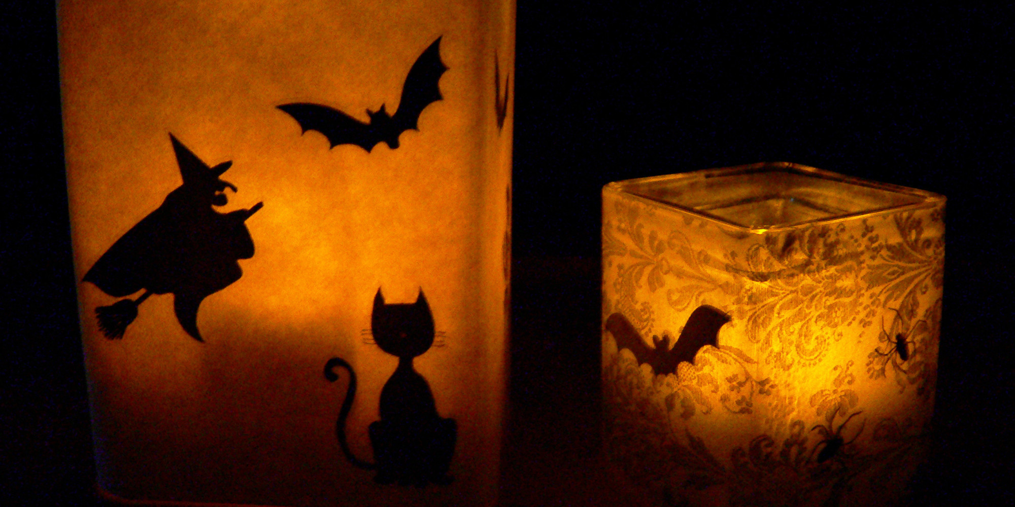 Light Up Halloween Night With Homemade Luminaries