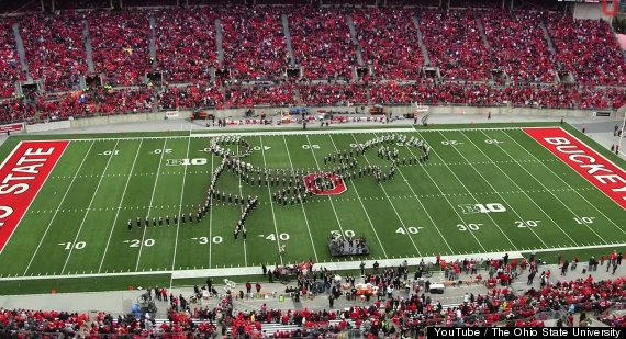 ohio state football halftime