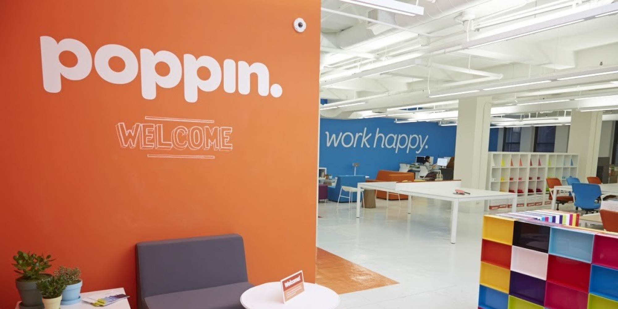 Poppin S Work Happy Slogan Starts With Its Own Employees
