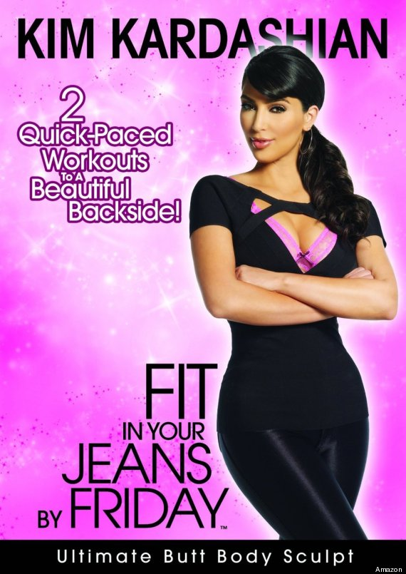 kim kardashian work out video