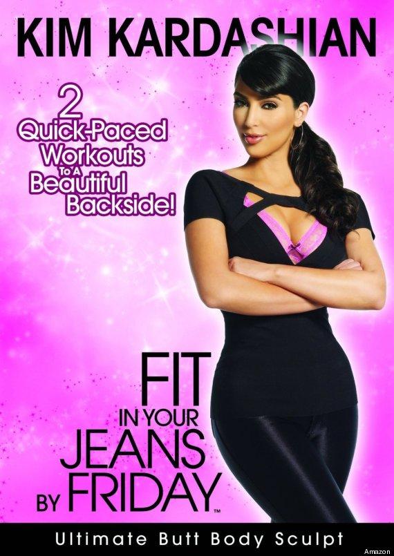 kim kardashian work out video