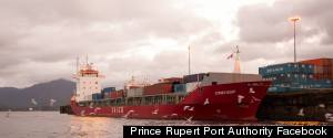 RUSSIAN SHIP PRINCE RUPERT