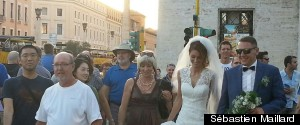 WEDDING NEAR THE VATICAN