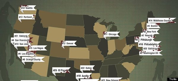 The Worst Places To Be During The Zombie Apocalypse