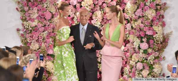 The Fashion Industry Mourns Oscar de la Renta, 'The King Of Evening'