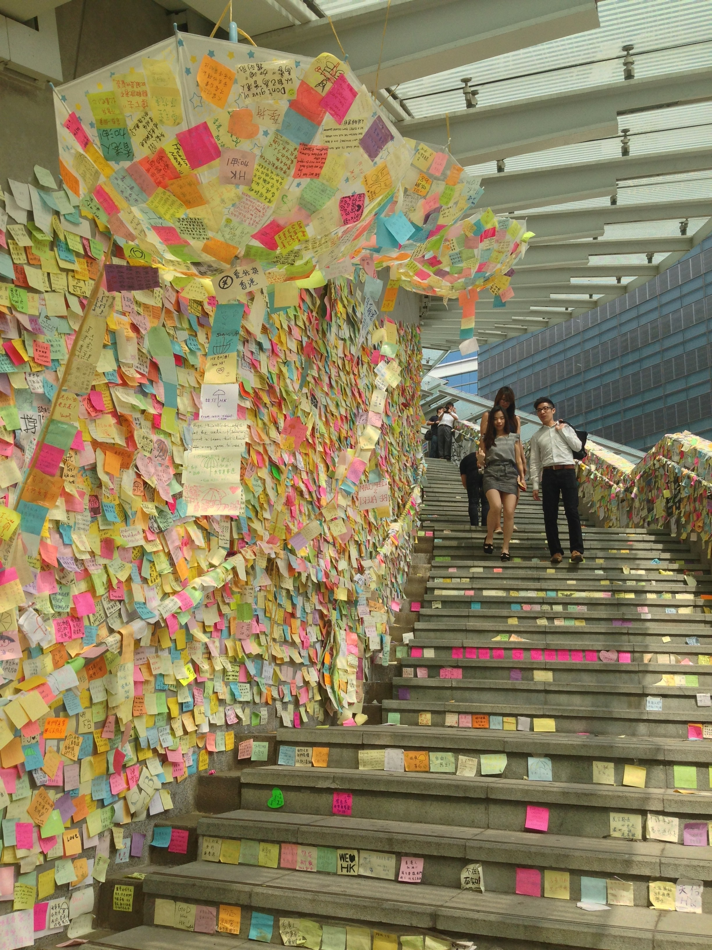 The Art Of The Umbrella Movement Huffpost