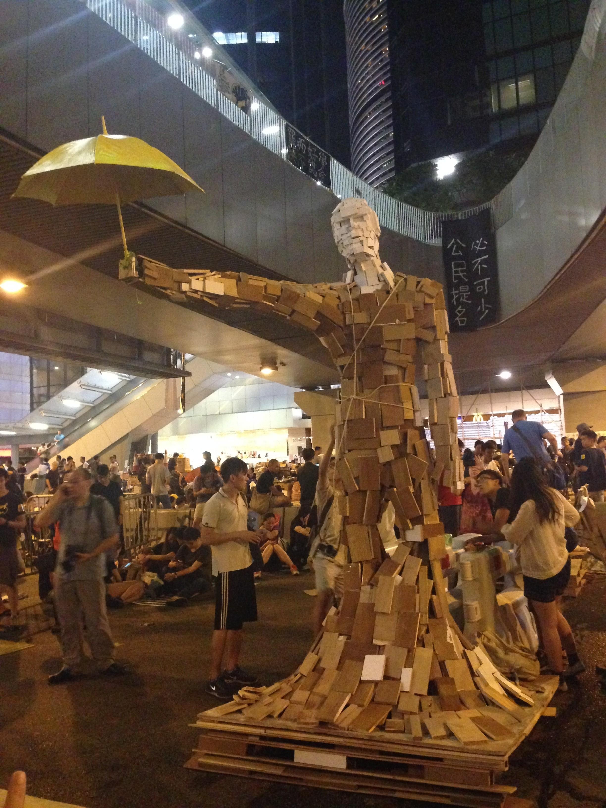 guarda-chuva homem de frente