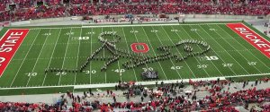 OHIO STATE MARCHING BAND ROCK