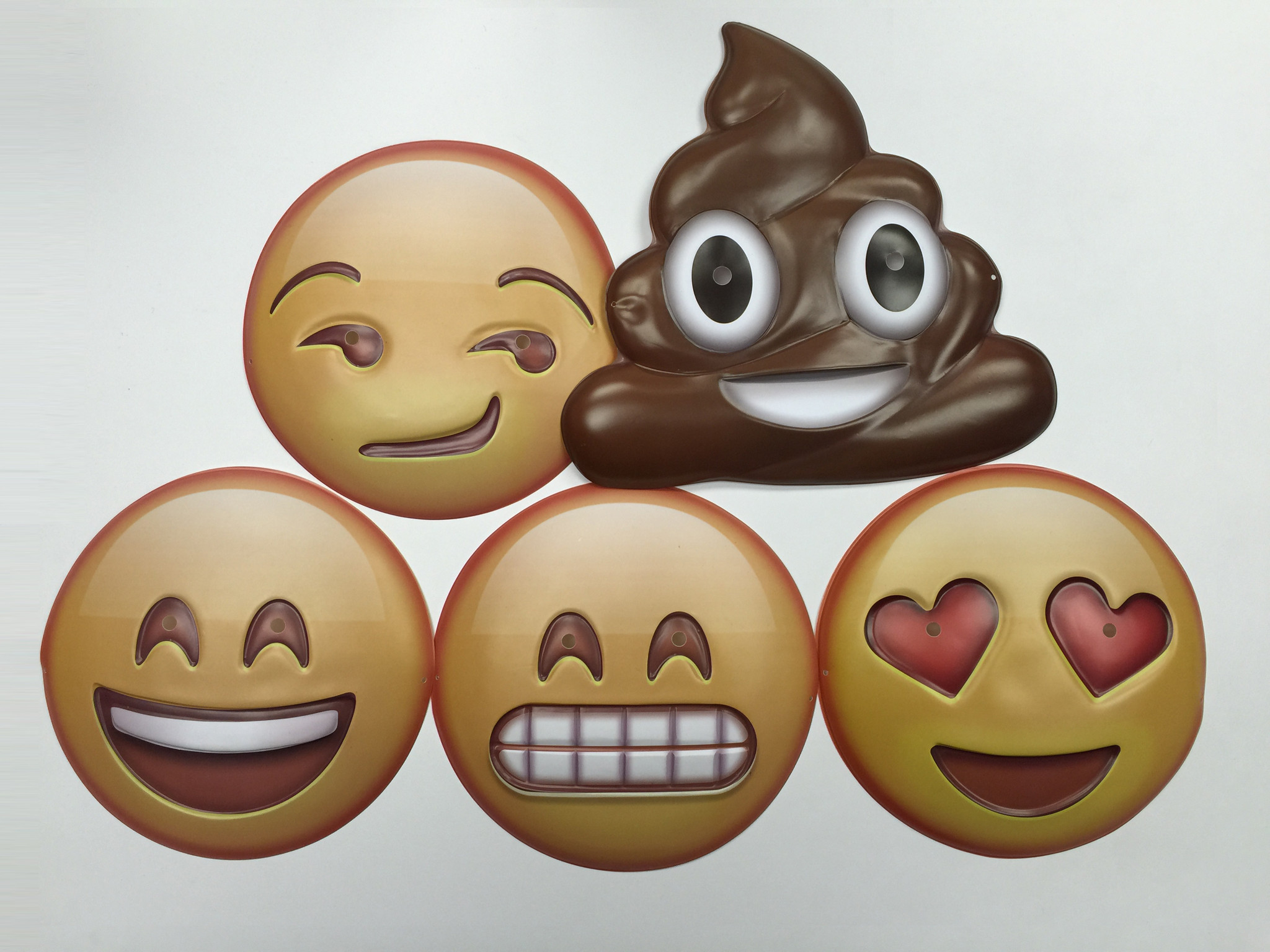 These Emoji Masks Are The Best Halloween Costumes $5 Can Buy ...