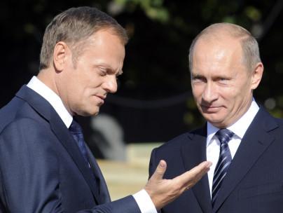 Tusk und Putin