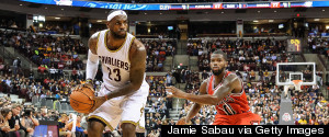 LEBRON JAMES CLEVELAND