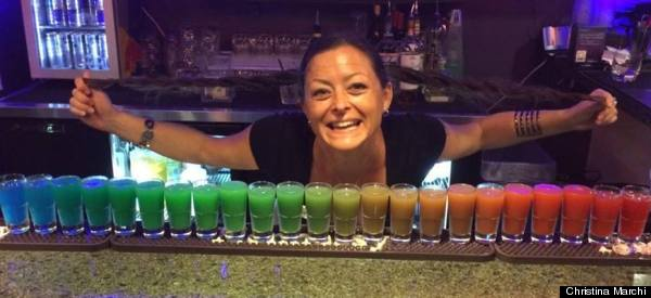 The Rainbow Shot Will Absolutely Blow Your Mind. Here's How To Make It.