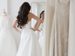 My Friend And I Chose The Same Wedding Dress 2,500 Miles Apart