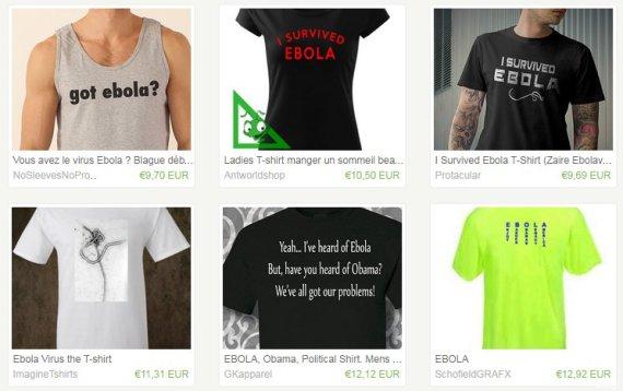 tshirts ebola