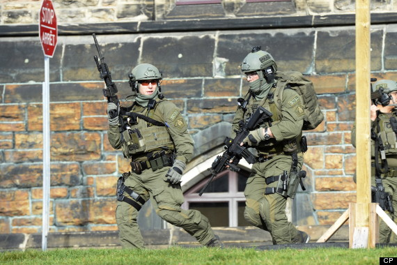 parliament hill shooting