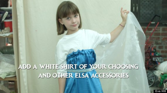This halloween diy an elsa costume for less than 30 huffpost diy elsa costume solutioingenieria Choice Image