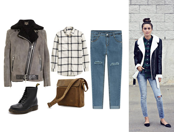 How To Wear Shearling And Not Look Like A Stuffed Animal   HuffPost