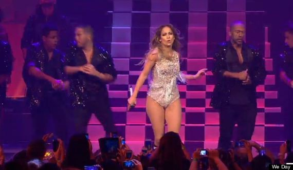 jlo we day vancouver