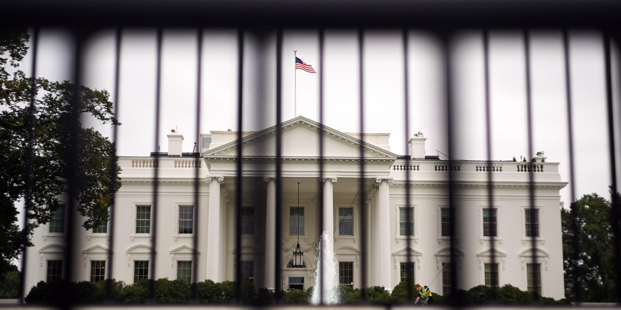 Man Tackled By Secret Service Dogs After Jumping White House Fence