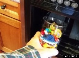 This Genius Put Candy In His Ice Machine, Creating A Frozen Candy Dispenser