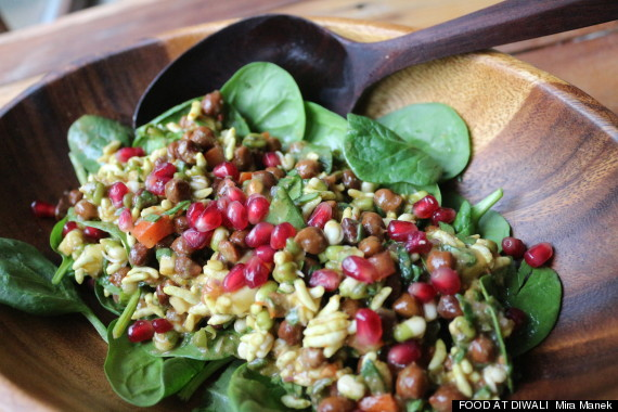 bhel salad