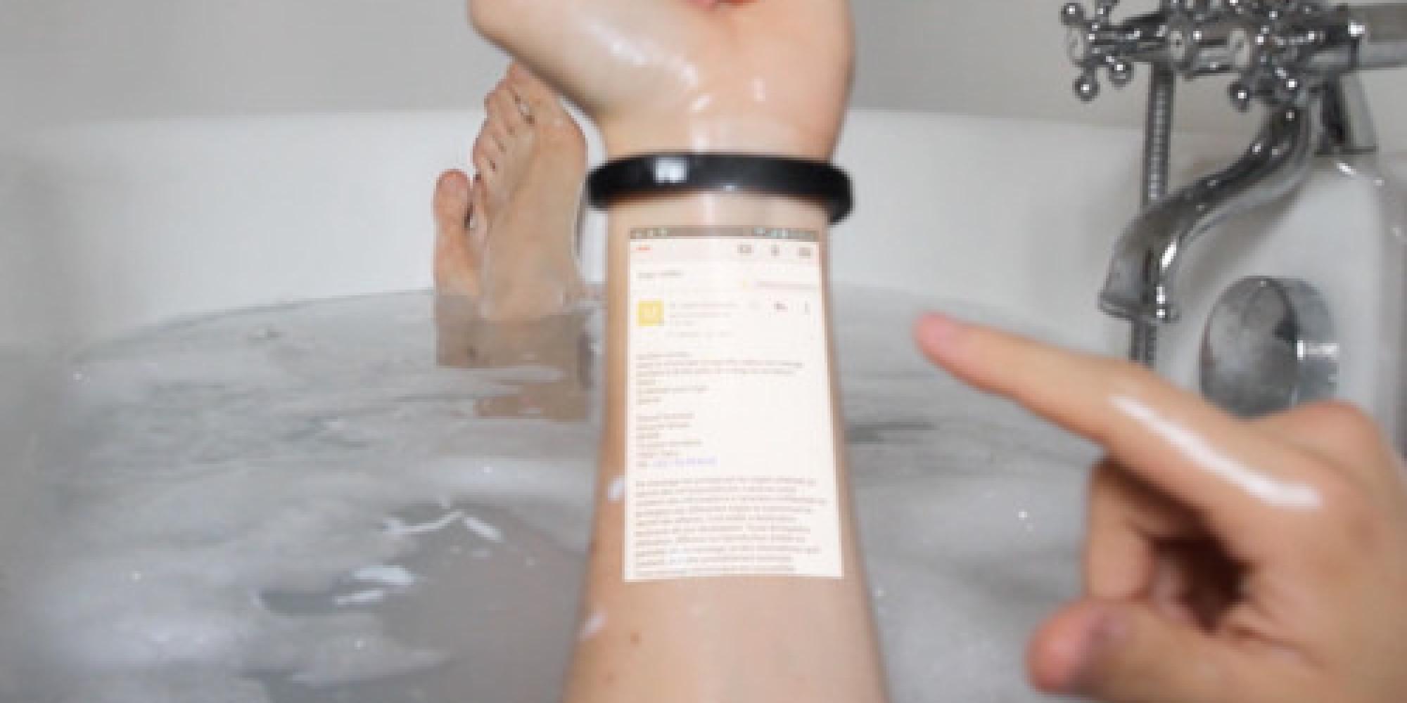 Circuit Bracelet Phone | gnewsinfo.com