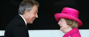 TONY BLAIR MARGARET THATCHER