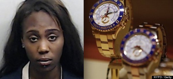 Woman Stashes $25K Watch In Her Vagina After Hookup: Cops
