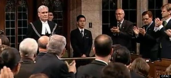 Emotional Standing Ovation For Canada's Sergeant-In-Arms