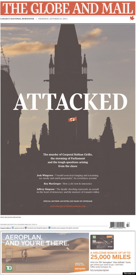 attacked globe mail