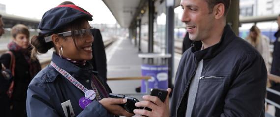 GOOGLE GLASS SNCF
