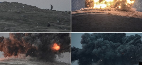 US Airstrike Devastates Hill Captured By Islamic State