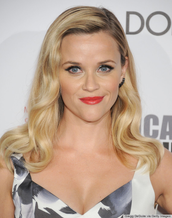 Reese Witherspoon with Red Lipstick