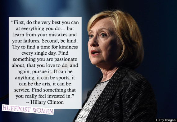 Hillary Clinton Quote On Hillary Clinton's Birthday Here Are 7 Awesome Things She Said