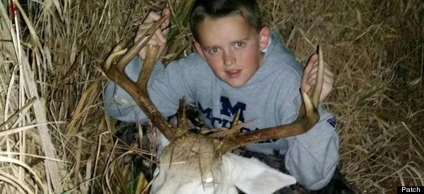 This Boy Killed An Albino Deer With A Crossbow. Now He's Getting Death Threats.