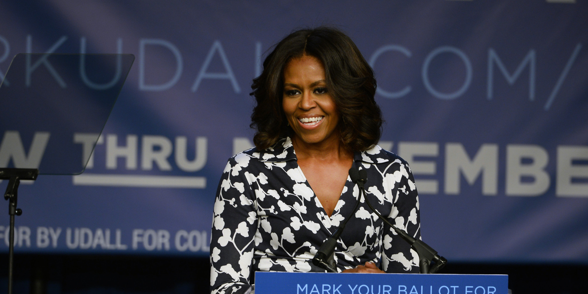 michelle obama thesis spelling