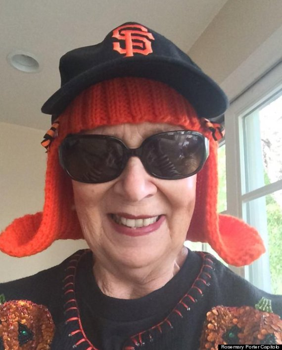 Get Knitting Grandma : This talented granny going through chemo knitted herself a