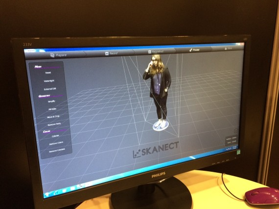 matrix 3d printer body scanner