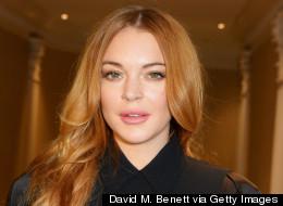 Lindsay Lohan Snaps A Topless Selfie
