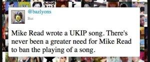 MIKE READ UKIP CALYPSO TWITTER