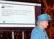Queen sends her first royal tweet