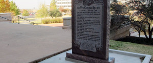 TEN COMMANDMENTS OKLAHOMA