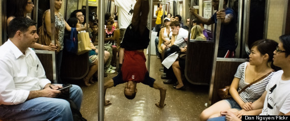 new york city subway performers