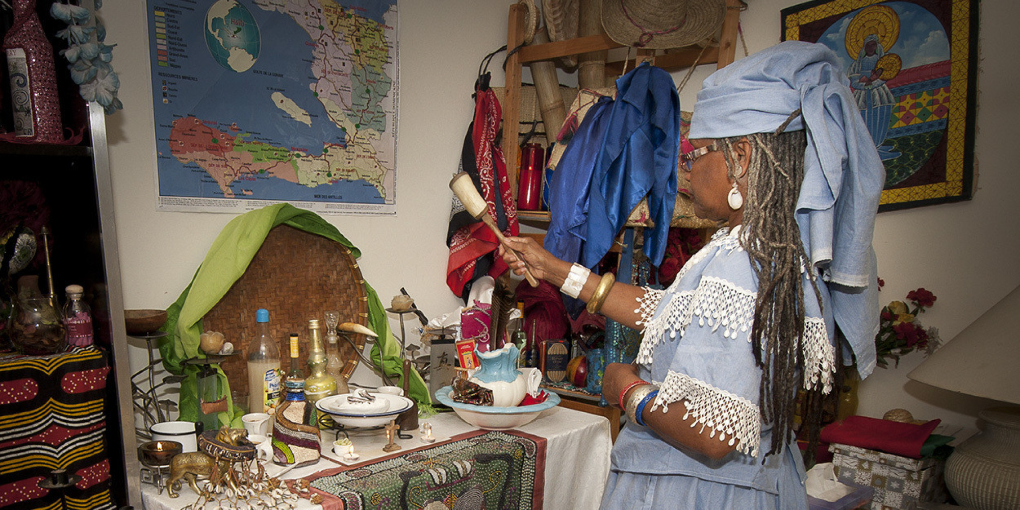 The World Of Vodou Exhibit Brings To Life A Highly
