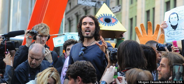 Russell Brand Reveals He Is 'Willing To Die' For His Revolution