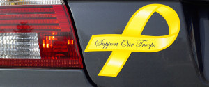 Support Troops Magnet