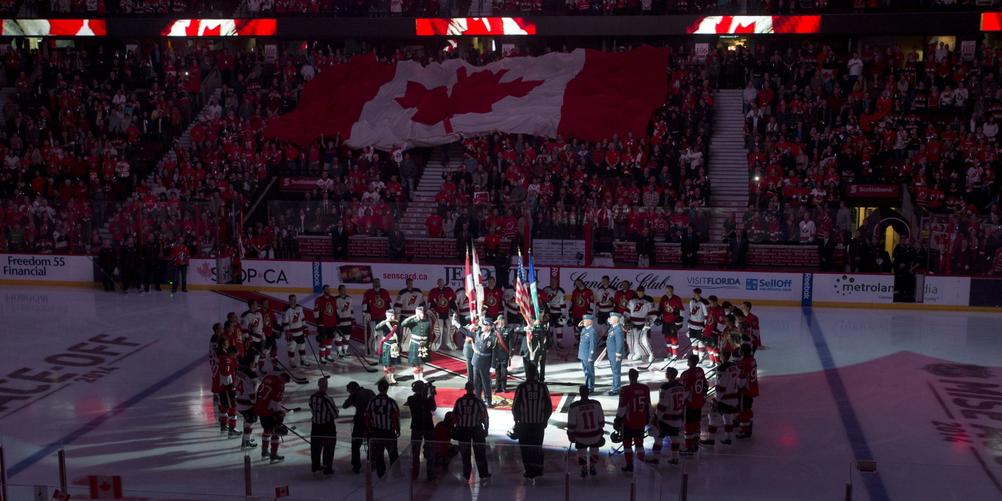 Russian anthem after the preliminary round game rus - usa
